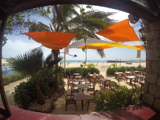 Restaurant view, Sal, Cape Verde