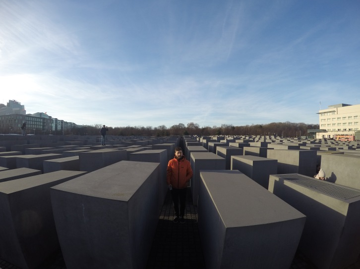 The Holocaust memorial, Berlin